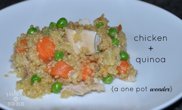 chicken and quinoa