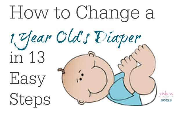 i live how to change a diaper