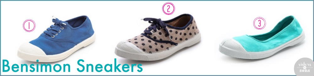 bensimon tennis sneakers