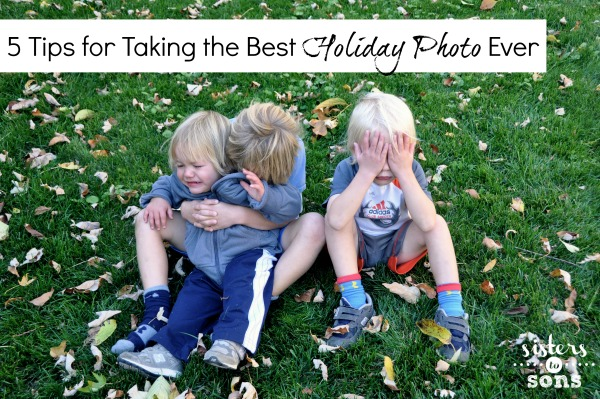 tips for taking the best holiday photo ever