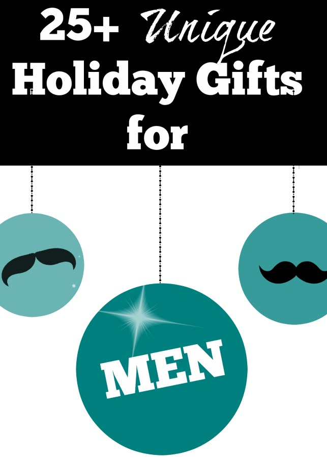 Unique Holiday Gift Ideas For Men The Motherchic