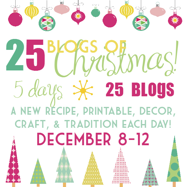 25 blogs of christmas