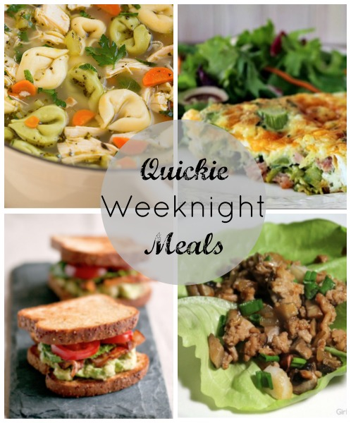 quickie meals