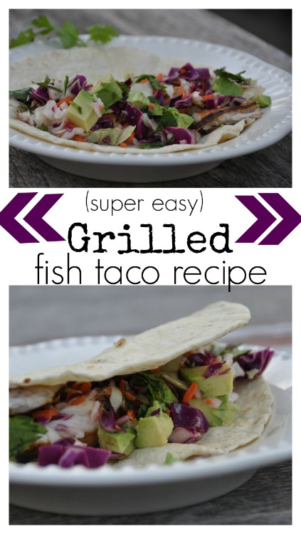 Super easy fish taco recipe the motherchic for Simple fish taco recipe